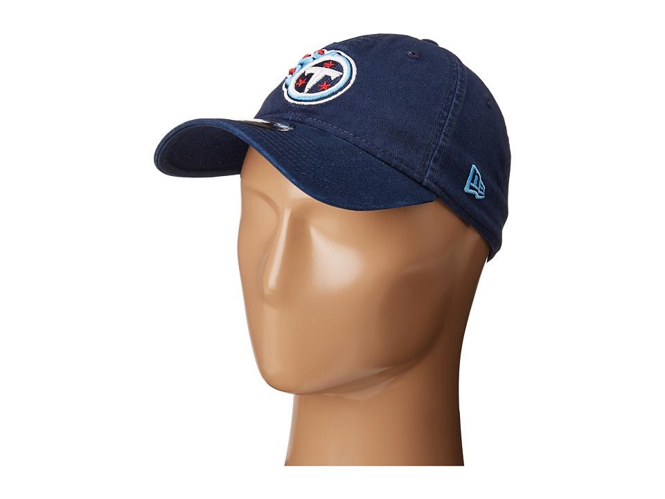 New Era - Tennessee Titians 9TWENTY Core (Blue) Baseball Caps