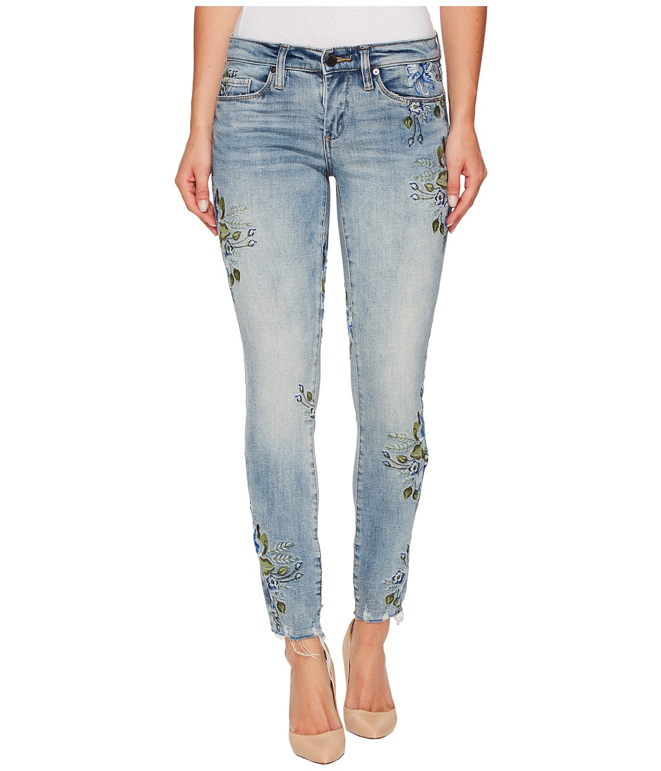 Blank NYC Denim Floral Embroidered Skinny in Back To Nature (Back To Nature) Women