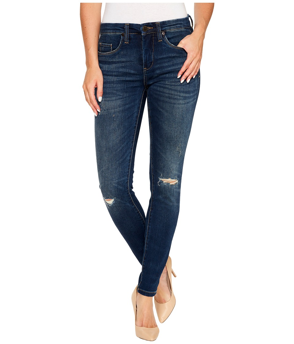 Blank NYC Denim Mid-Rise Skinny in Playing Favorites (Playing Favorites) Women