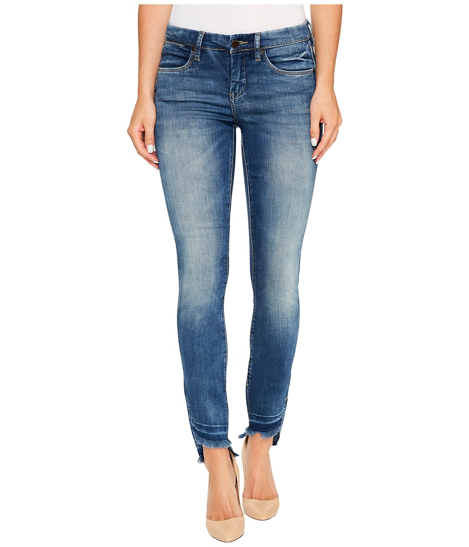 Blank NYC Crop Raw Edge Denim Skinny in Coffee Nap (Coffee Nap) Women