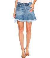 Blank NYC - Denim Ruffle Mini Skirt in Fancy That