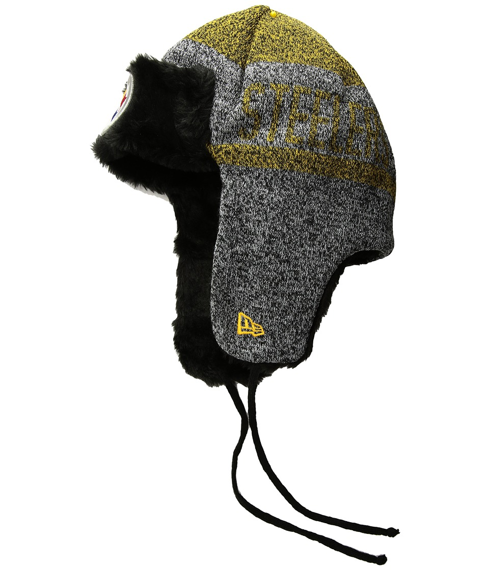 New Era Frostwork Trapper Pittsburg Steelers (Gray) Knit ...