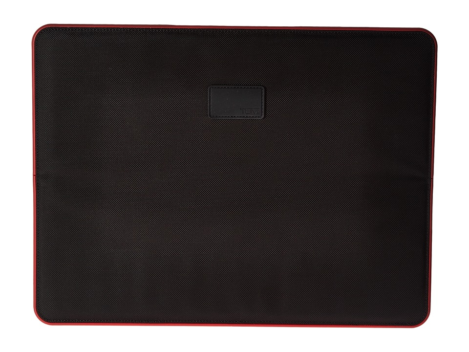 TUMI 15 Slim Solutions Laptop Cover (Black/Red) Computer ...