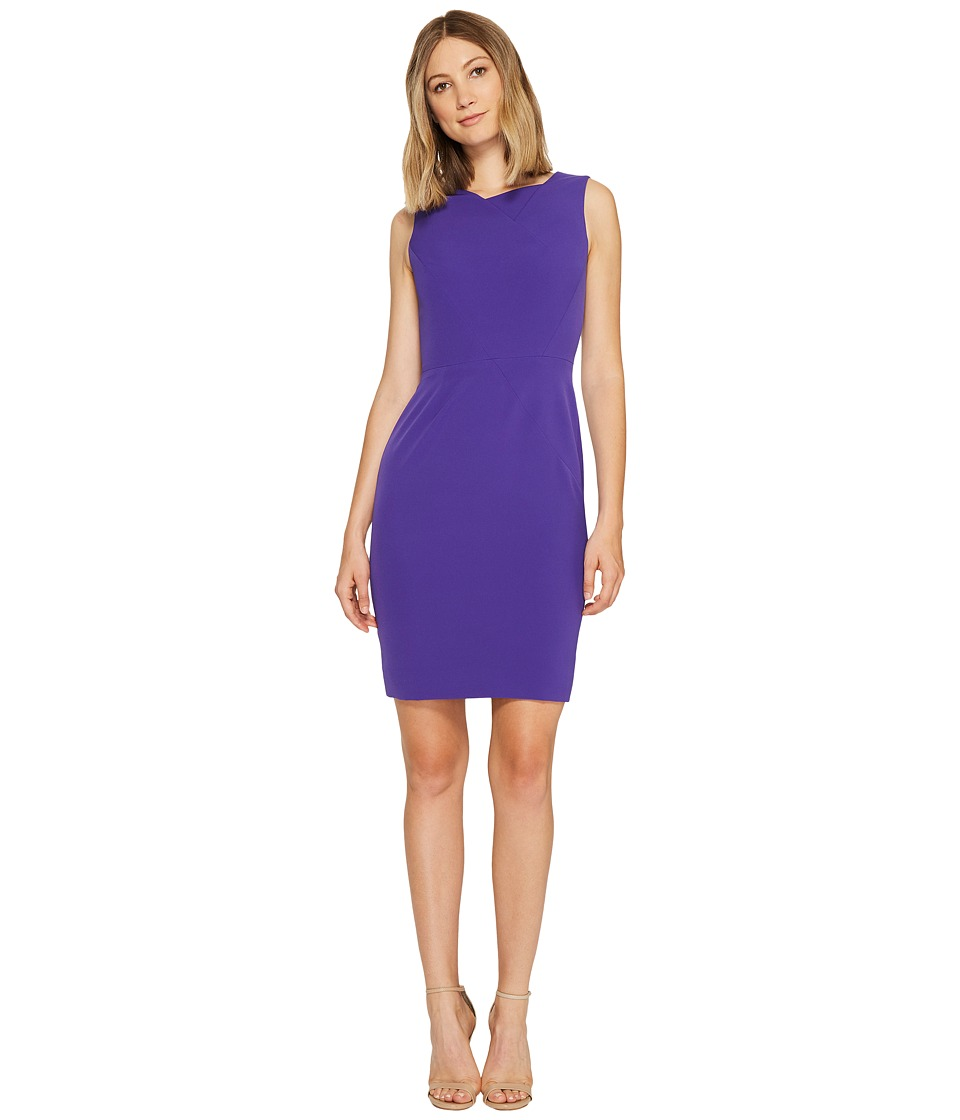 Tahari by ASL - Seamed Bodice Sheath Dress