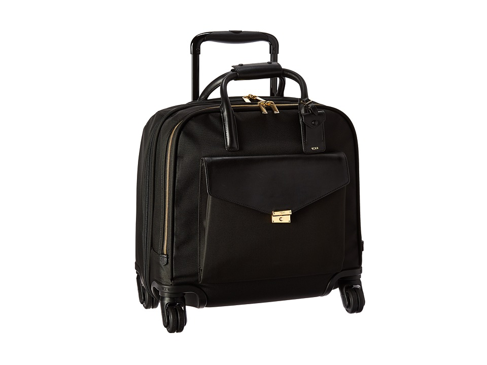Tumi Larkin SoMa Wheeled Brief (Black) Briefcase Bags