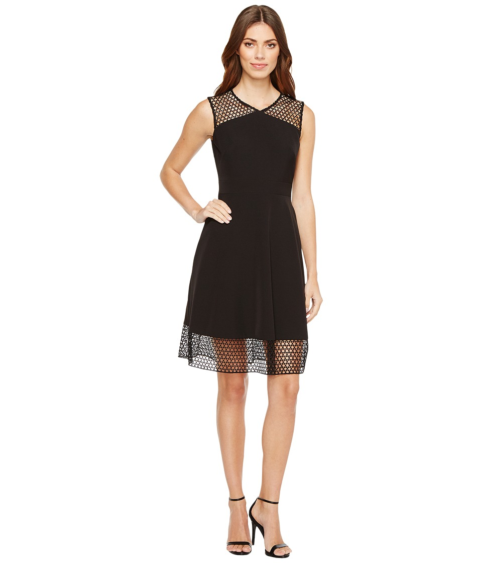 Tahari by ASL - Embroidery Trim Fit-and