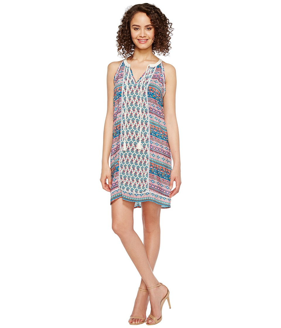 Tolani Savannah Sleeveless Tunic Dress (Ditsy) Women