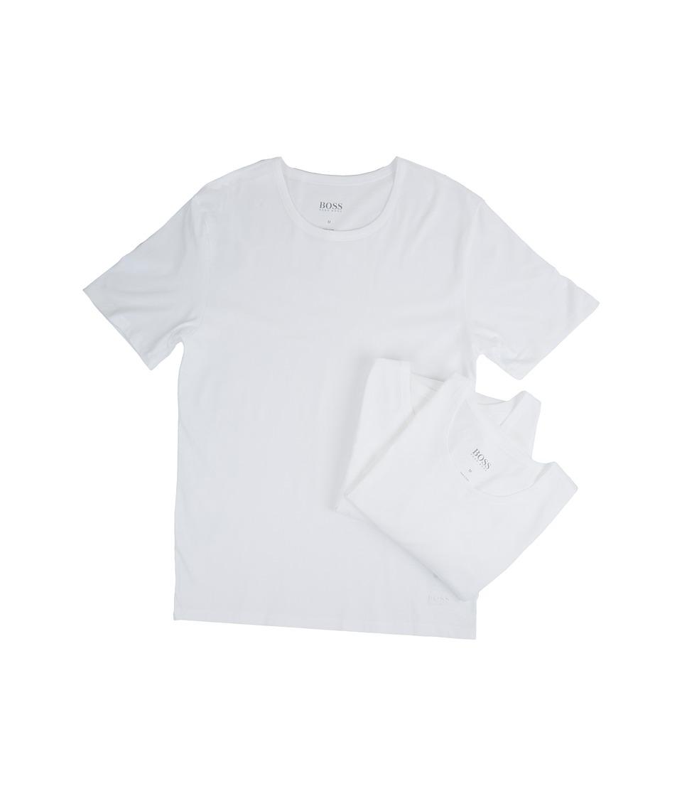 BOSS Hugo Boss T-Shirt Round Neck 3-Pack US CO 10145963 01 (White) Men