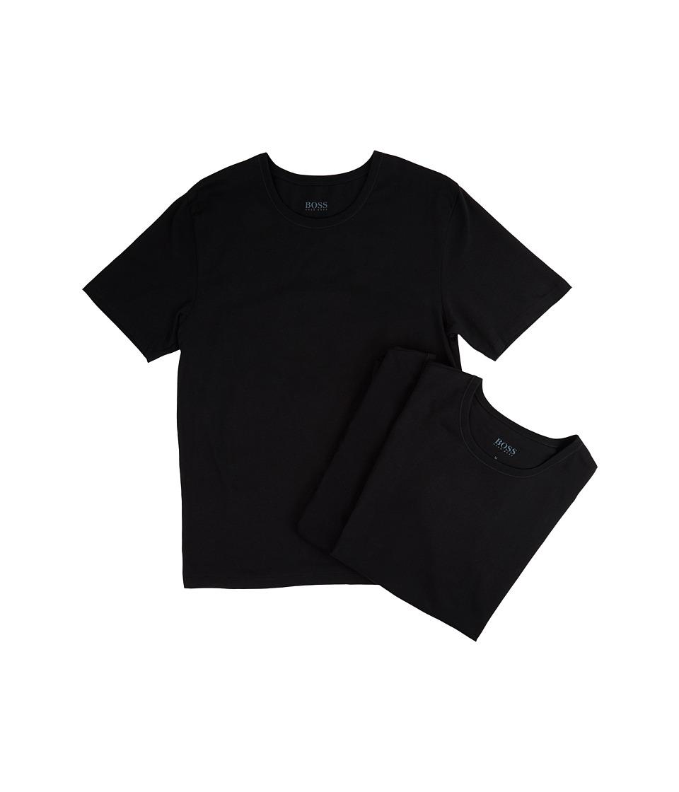 BOSS Hugo Boss T-Shirt Round Neck 3-Pack US CO 10145963 01 (Black) Men