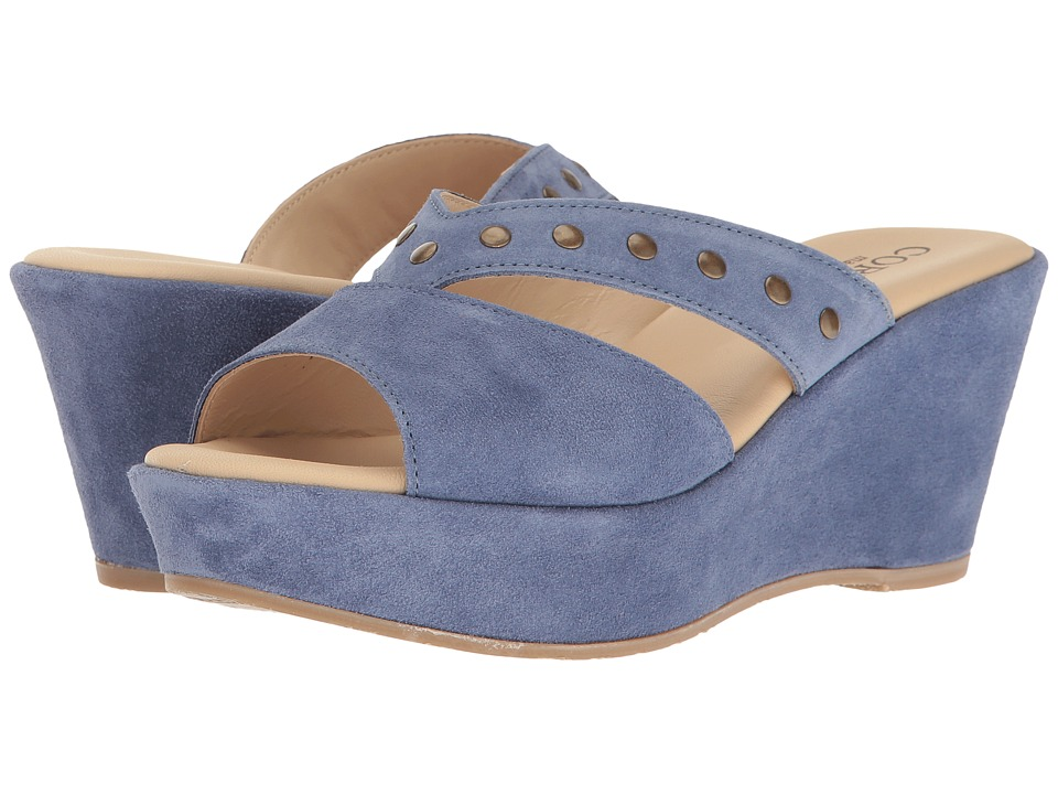 Cordani Glenna (Blue Suede) Women