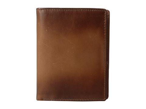 Fossil Paul RFID International Combination Wallet - Cognac