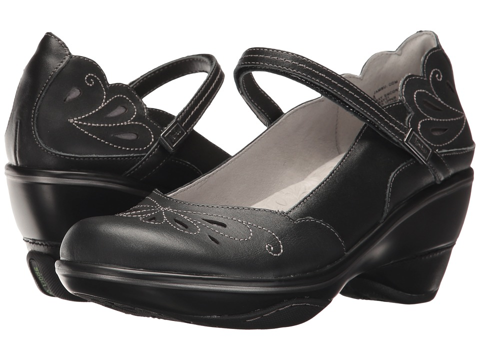 Jambu - Bombay Encore (Black Premium Calf Leather) Womens Shoes