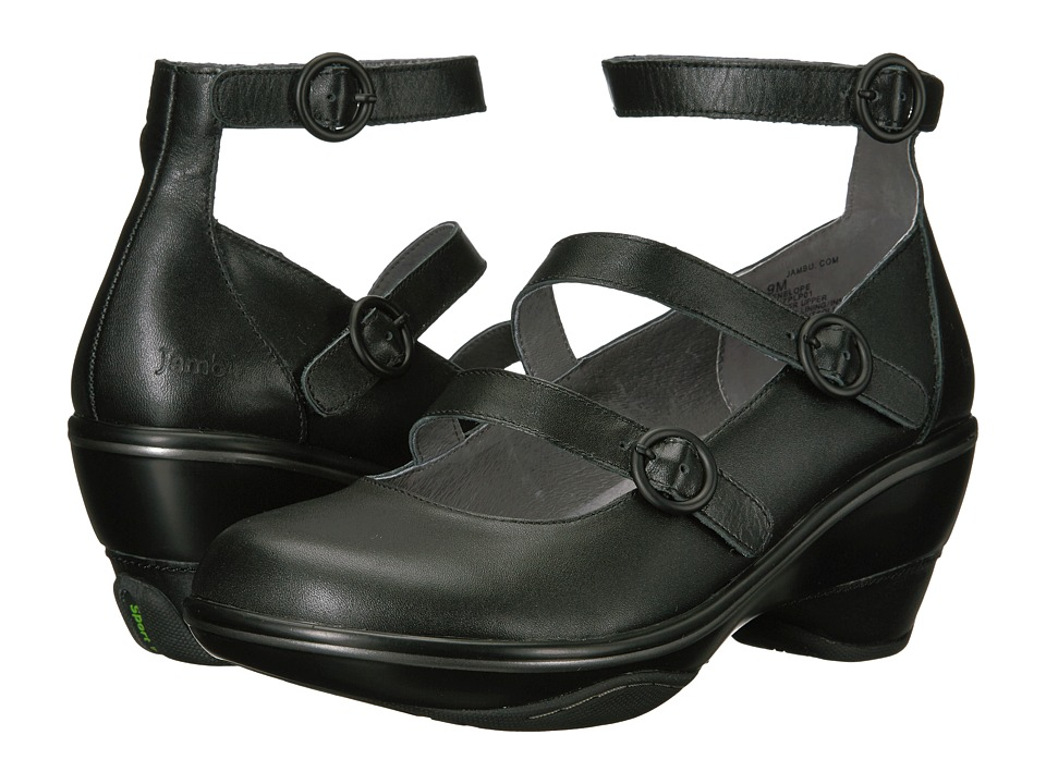 Jambu Penelope (Black Premium Calf Leather) Women