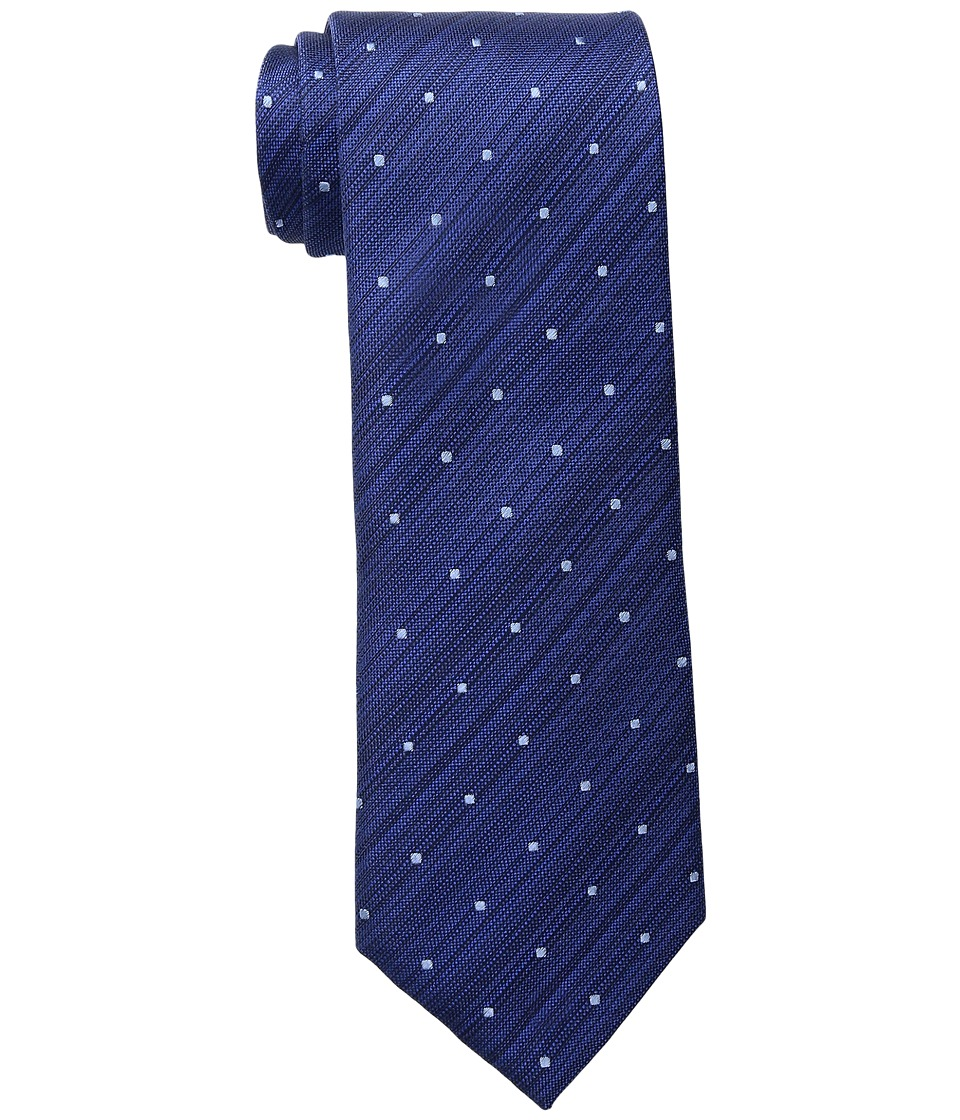 Kenneth Cole Reaction - Marble Neat (Navy) Ties