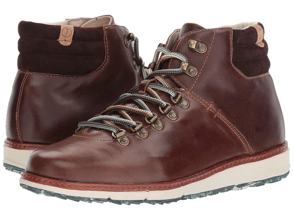 Jambu - Rushmore Water-Resistant (Brown Full Grain Leather/Kid Suede) Mens Boots