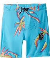 Volcom Kids - Tropic Elastic Boardshorts (Toddler/Little Kids)