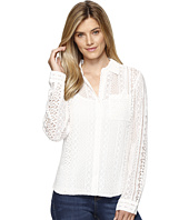 Dylan by True Grit - Sierra Lace Boyfriend Blouse