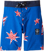 Volcom Kids - Freedom Elastic Boardshorts (Little Kids/Big Kids)