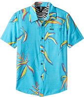 Volcom Kids - Motel Floral Short Sleeve Shirt (Big Kids)