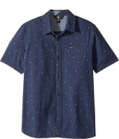 Volcom Kids - Interlude Short Sleeve Shirt (Big Kids)