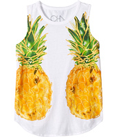 Chaser Kids - Reflected Pineapples Tank Top (Little Kids/Big Kids)