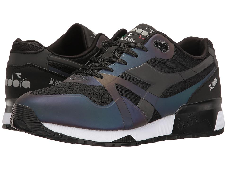 Diadora N9000 MM Hologram (Black) Athletic Shoes
