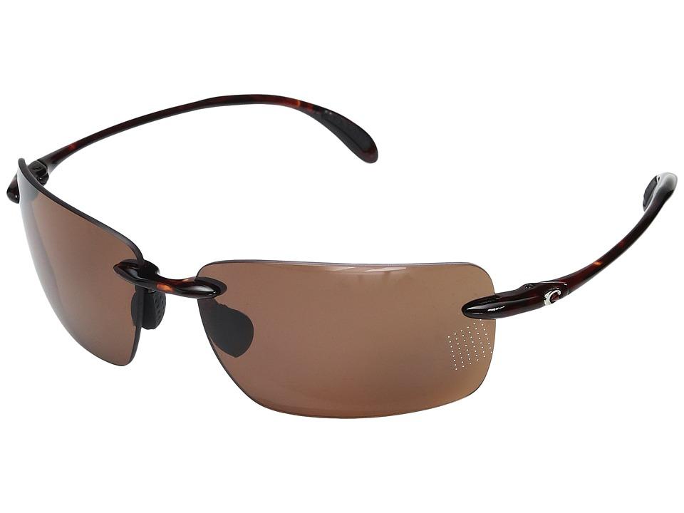 Costa Gulf Shore (Tortoise Frame/Copper 580P) Sport Sunglasses