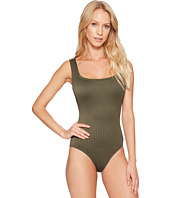 MICHAEL Michael Kors - Graphic Rib U-Neck One-Piece