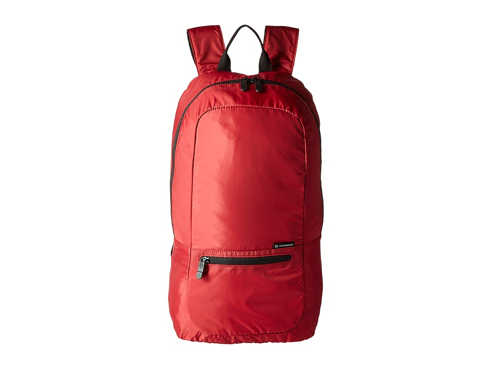 Victorinox Packable Backpack (Red) Backpack Bags