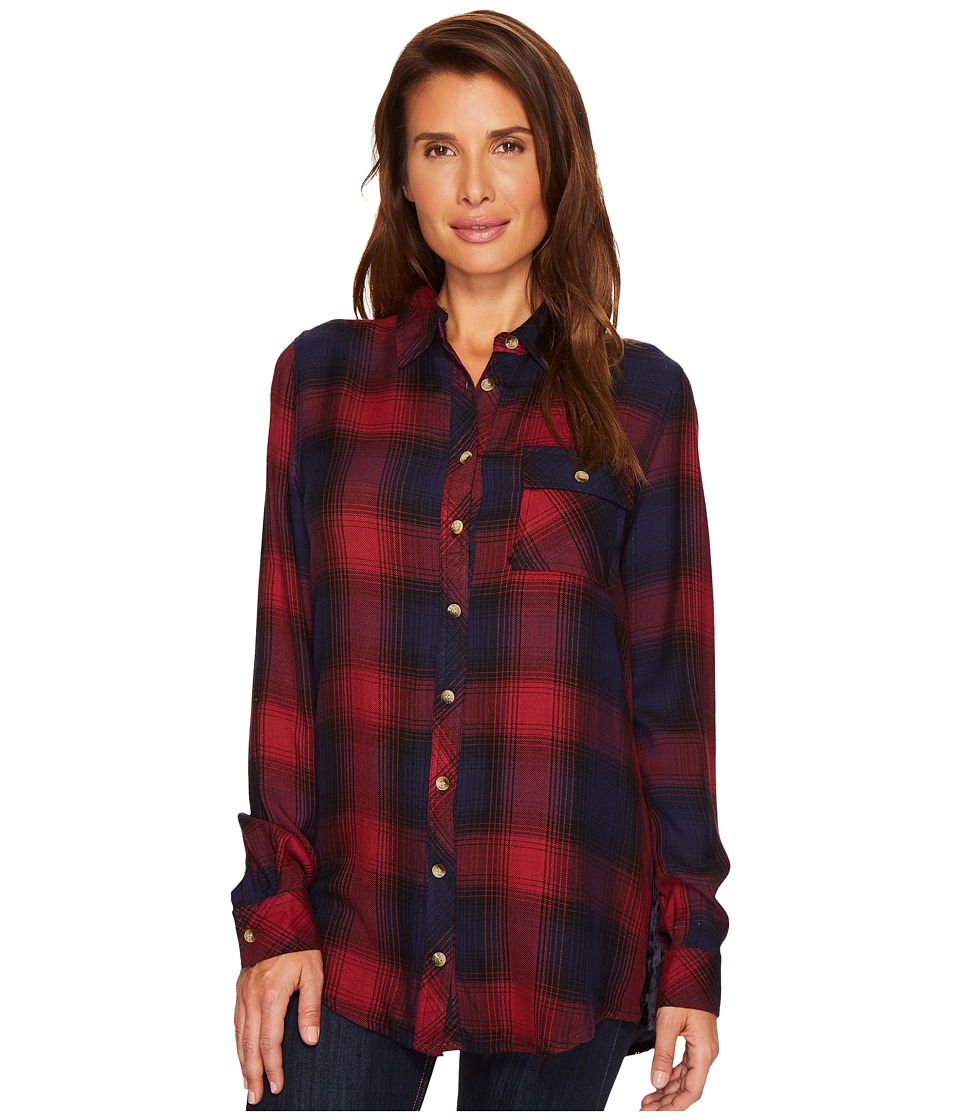 Tolani - Emma Plaid Top