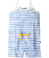 Toobydoo - Blue & White Beach Romper (Toddler/Little Kids/Big Kids)