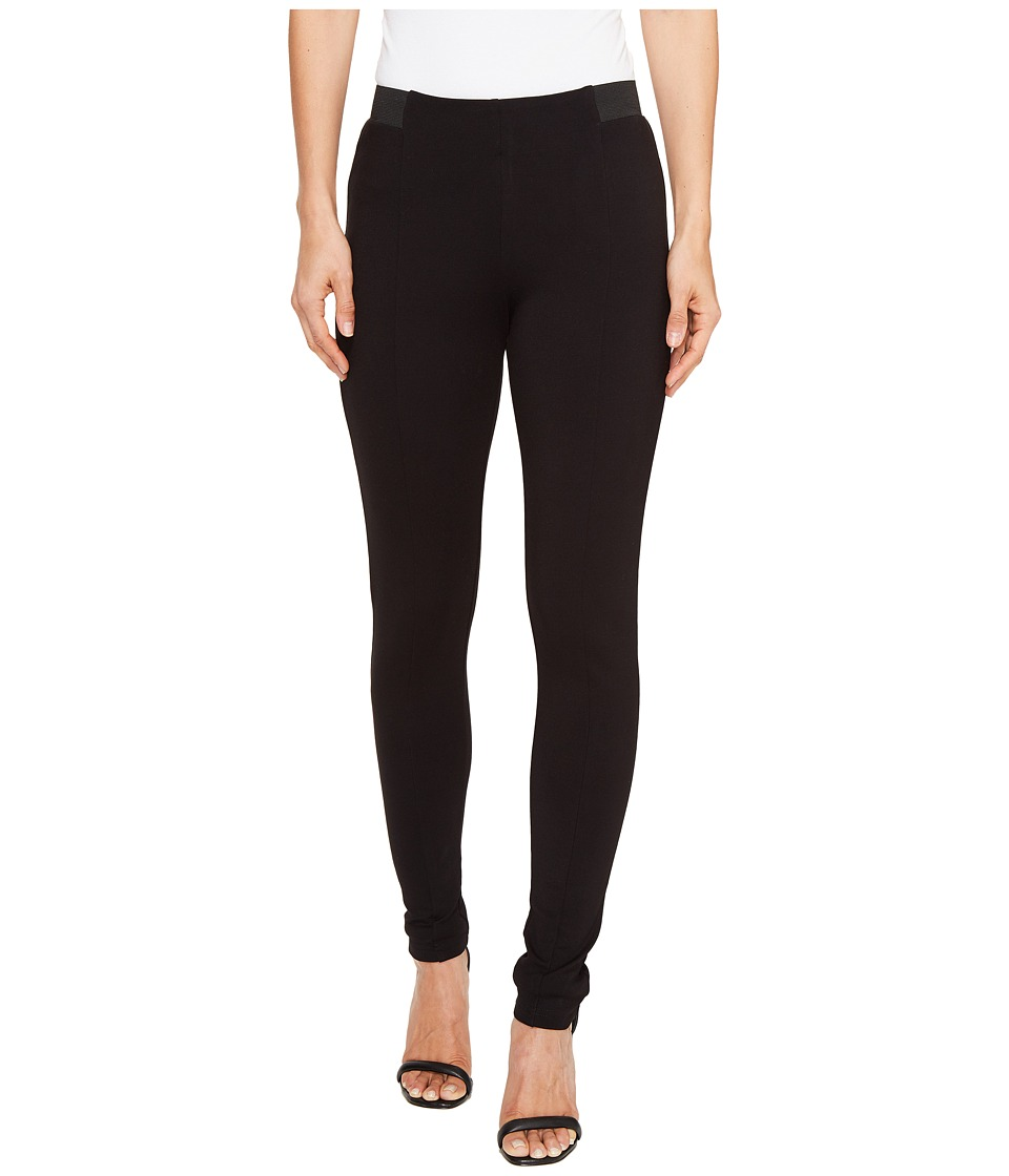 kensie Compression Ponte Pants KS8K1S48 (Black) Women