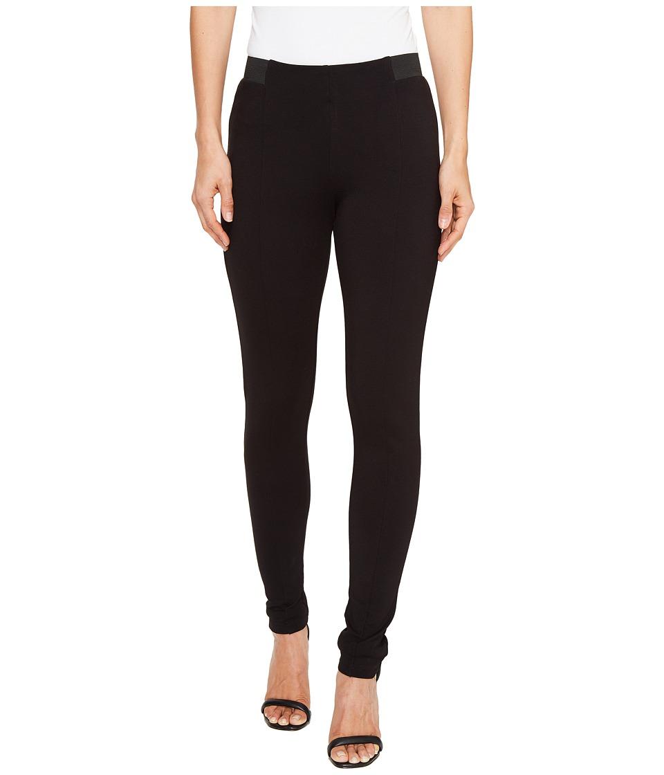 kensie Compression Ponte Pants KS8K1S48 (Black) Women