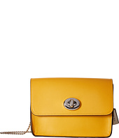 COACH - Refined Calf Leather Turnlock Crossbody