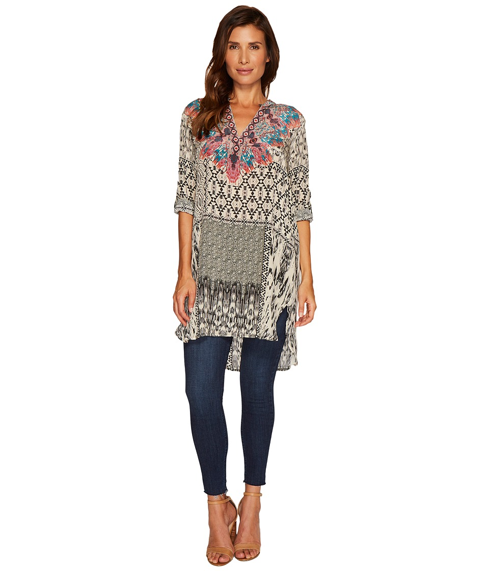 Tolani Skyler Tunic Dress (Ikat) Women