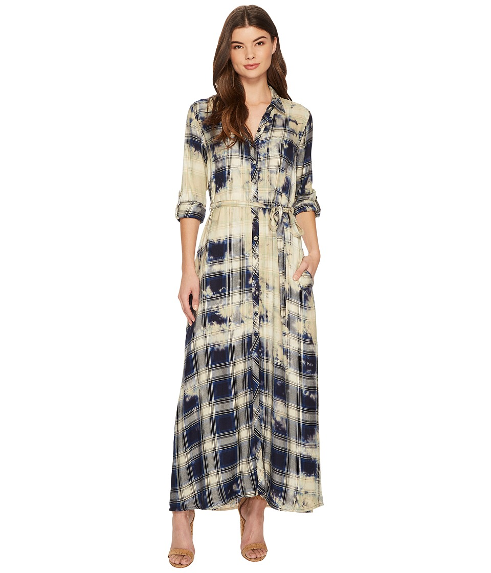 Tolani Amanda Maxi Dress (Indigo) Women