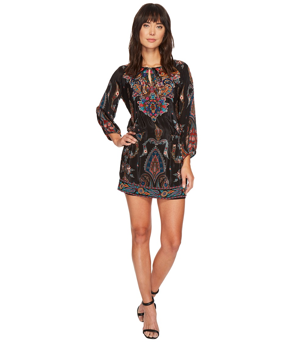 Tolani Camria Tunic Dress (Black) Women