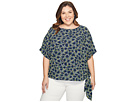 MICHAEL Michael Kors - Plus Size Hayden Side Tie Top