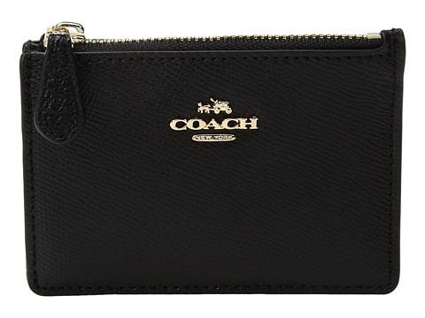 COACH Crossgrain Mini ID Skinny