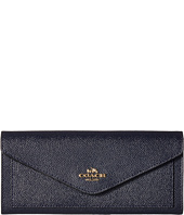 COACH - Soft Wallet In Crossgrain Leather