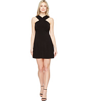 MICHAEL Michael Kors - Cross Neck Dress