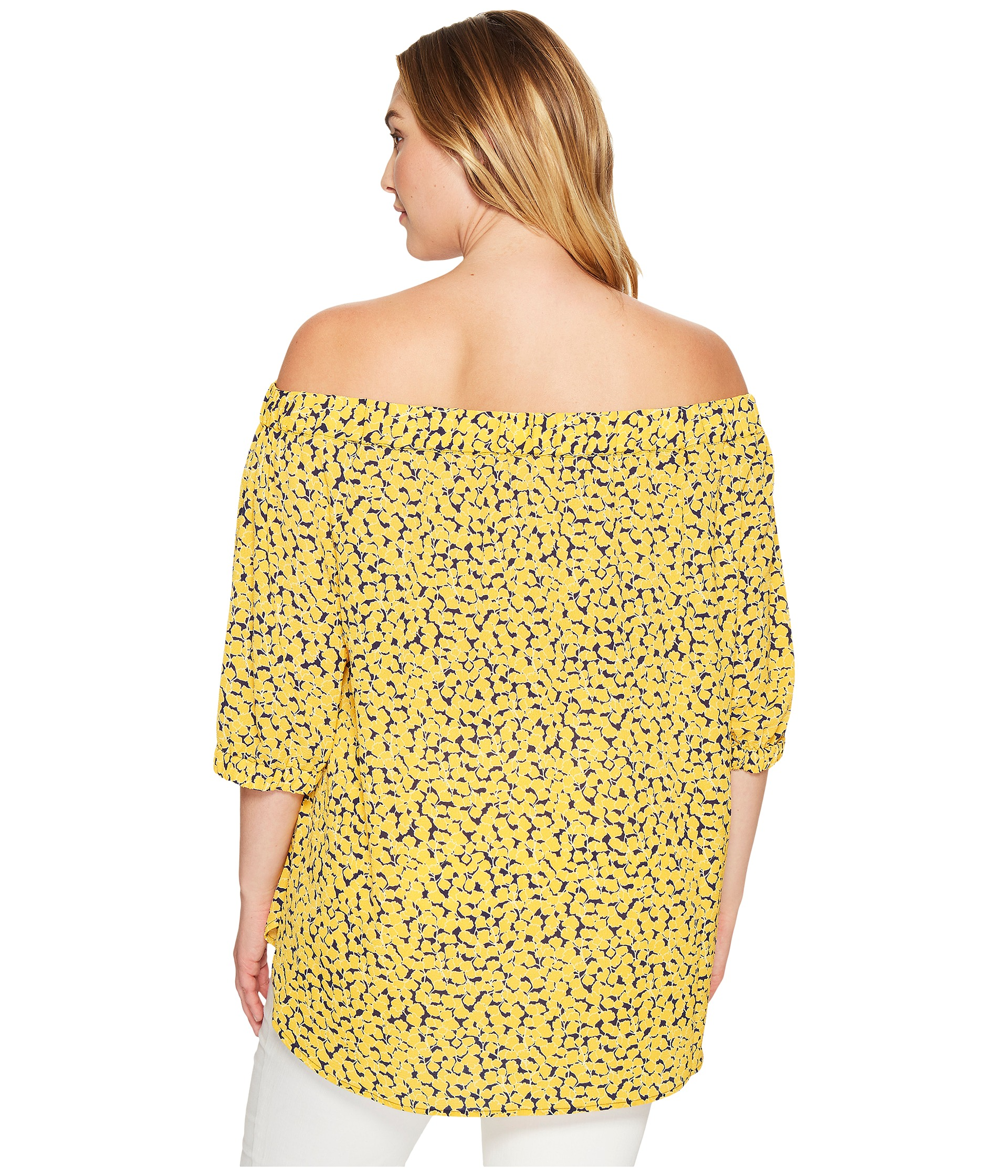 MICHAEL Michael Kors Plus Size Mini Finley Off Shoulder
