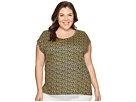 MICHAEL Michael Kors - Plus Size Mellora Eliptical Hem Top