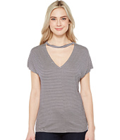 Project Social T - Leigh Striped V-Back Tee