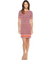 MICHAEL Michael Kors - Augusta Border Short Sleeve Dress