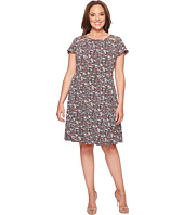 MICHAEL Michael Kors - Plus Size Brooks Shirred Neck Dress