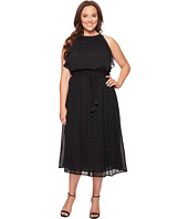 MICHAEL Michael Kors - Plus Size Halter Tassel Dress