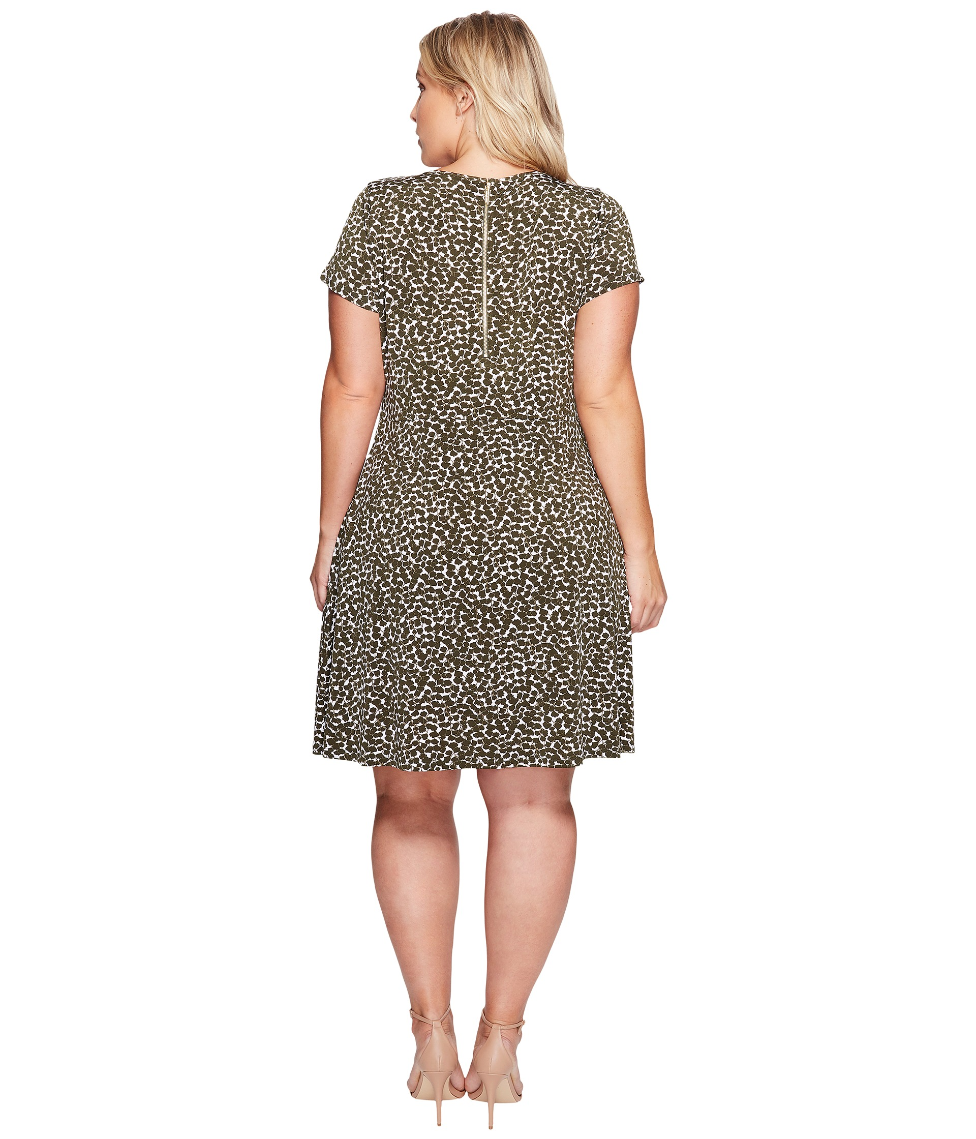 MICHAEL Michael Kors Plus Size Finley Mamba Cap Dress at