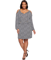 MICHAEL Michael Kors - Plus Size Thora Cold Shoulder Dress