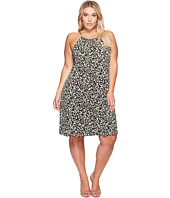 MICHAEL Michael Kors - Plus Size Camo MJ Halter Dress